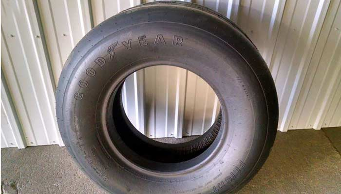 Aircraft tires for farm equipment