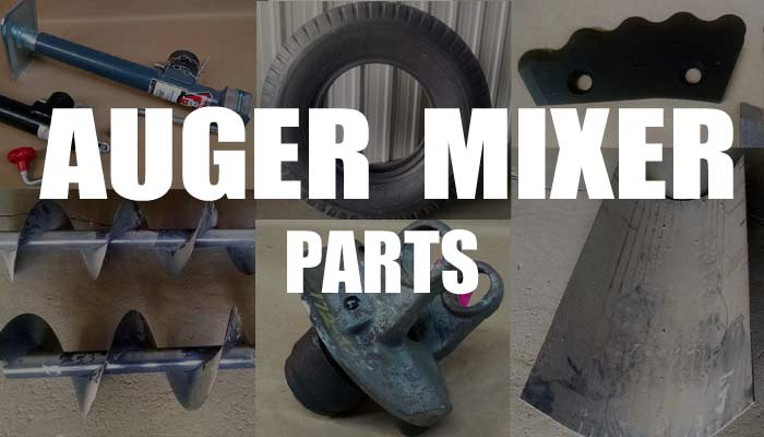 Parts for 3 and 4 auger mixer wagons